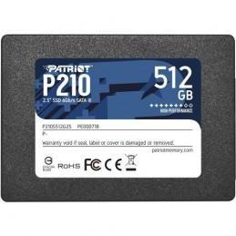 "SSD PATRIOT 512GB P210 2.5""..."