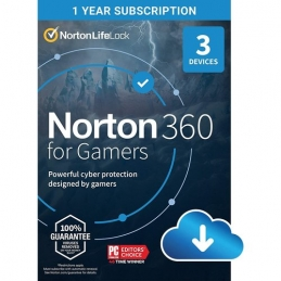 NORTON 360 FOR GAMERS...