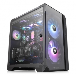 CASE VIEW 51 TG ARGB BLACK
